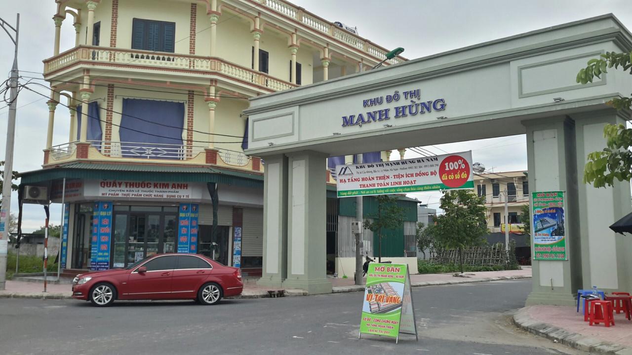 KĐT Mạnh Hùng - Hà Nam cơ hội đầu tư đầy tiềm năng