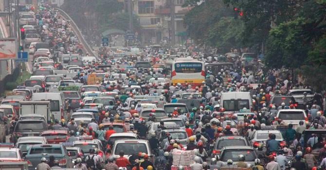 Môi trường ô nhiềm ngột ngat tại Hà Nội đang ở mức báo động