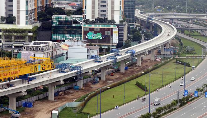 Dự án đường sắt trên cao Văn Cao - Hòa Lạc