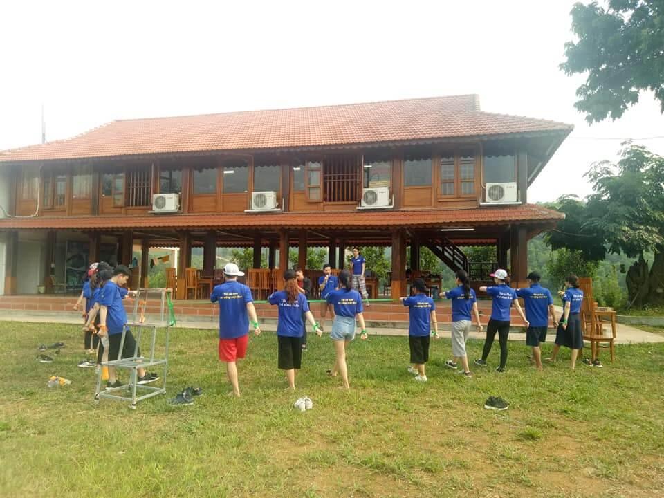Hồ Dụ là nơi thường xuyên tổ chức TeamBuilding của các cá nhân, tổ chức