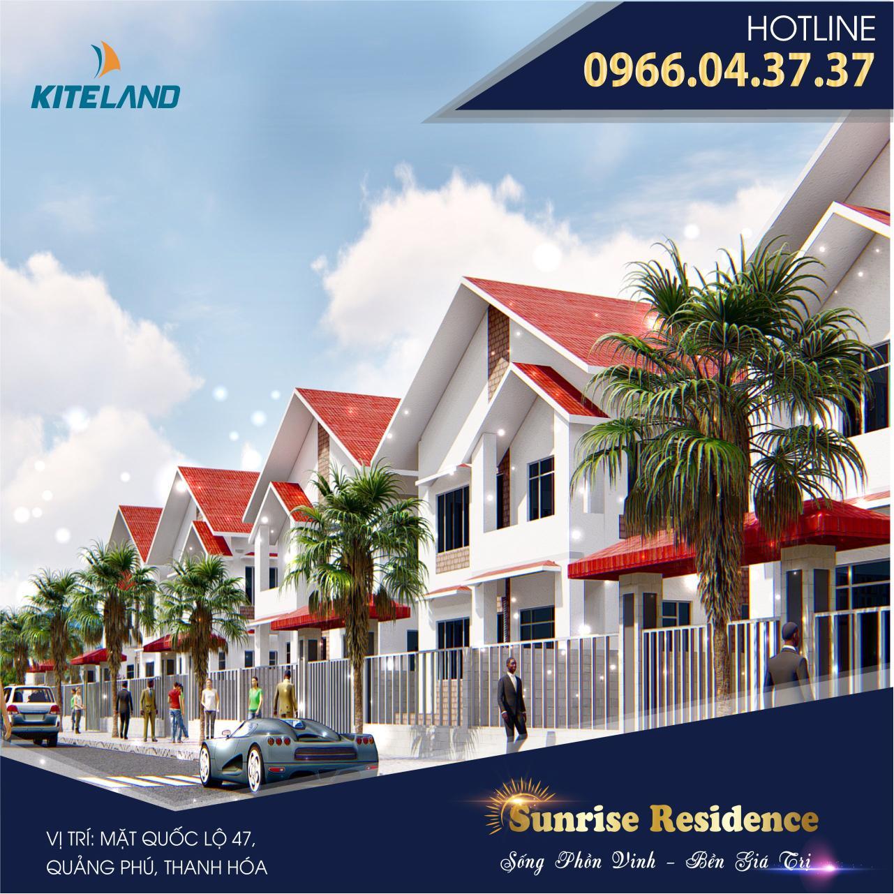 Phối cảnh Khu đô thị Sunrise Residence
