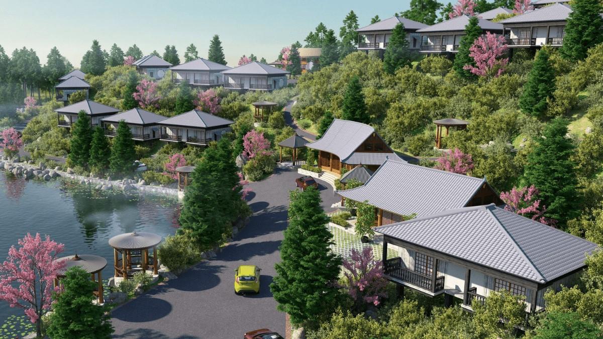 Toàn cảnh dự án Hasu Village