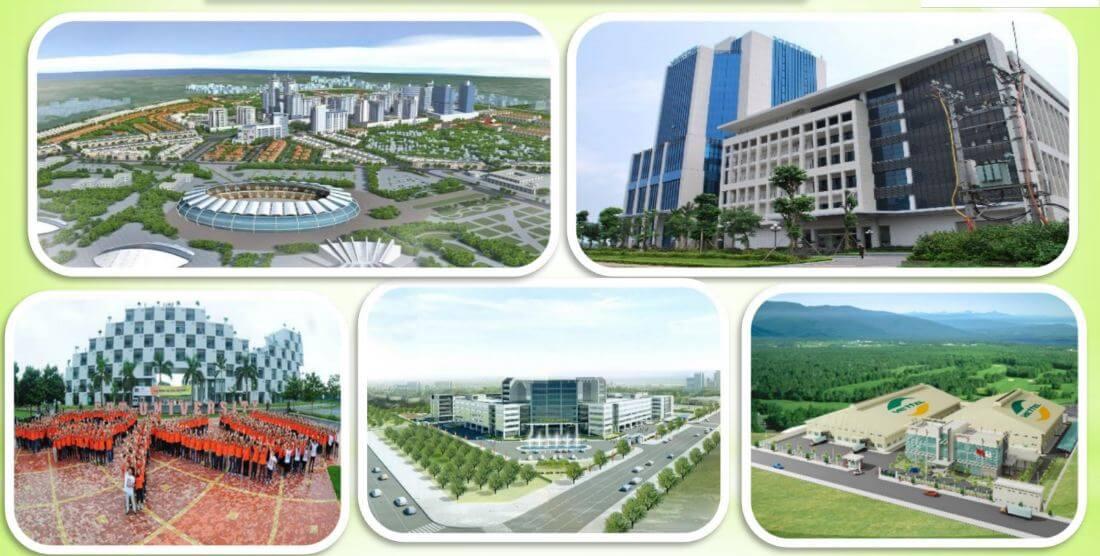 Các trường đại học, công ty tại Khu công nghệ cao Hòa Lạc