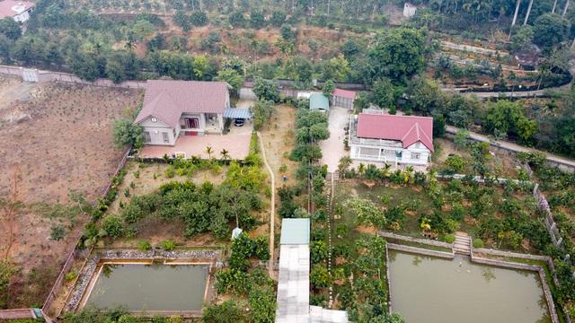 Nhiều gia đình ở Hà Nội có xu hướng chuyển ra ngoại thành sinh sống. Trong ảnh là những khu nhà vườn xanh mát mắt tại khu vực Quốc Oai (Hà Nội).