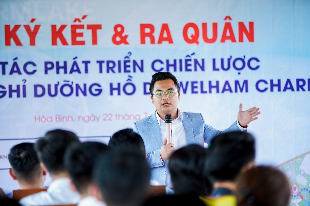 """""""Welham là cơ hội đầu tư tiềm năng lớn"""" - Ông Đinh Việt nhấn mạnh"""