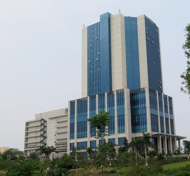 Tòa nhà Viettel 25 tầng tại Hòa Lạc