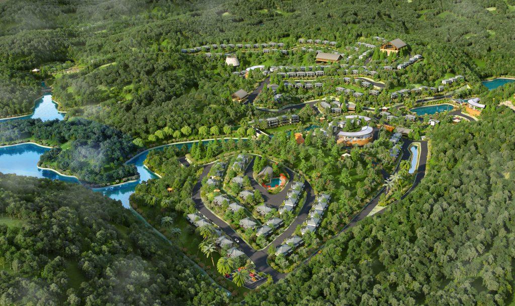 Toàn cảnh dự án Hasu Village Hòa Bình
