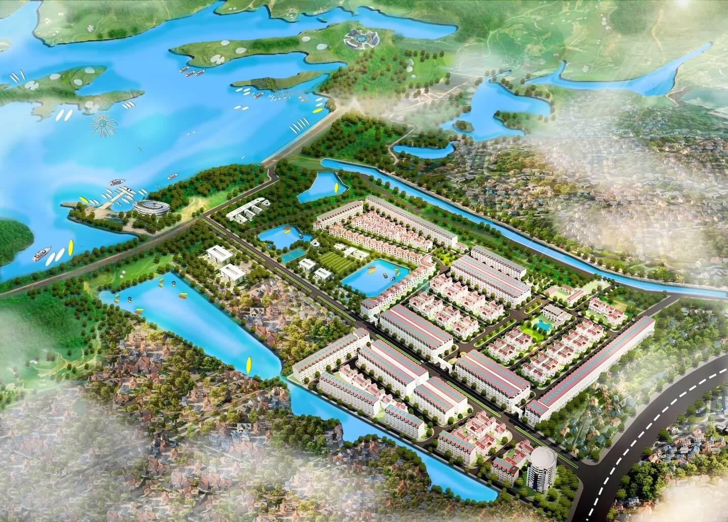Phối cảnh Khu đô thị Hòa Lạc Premier Residence