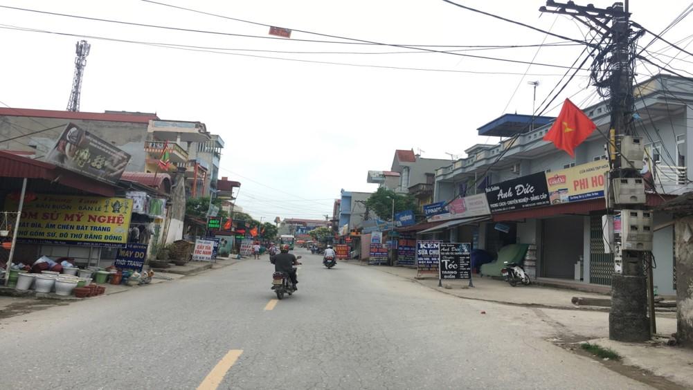 Dân cư phía ngoài dự án KĐT Mạnh Hùng - Hà Nam
