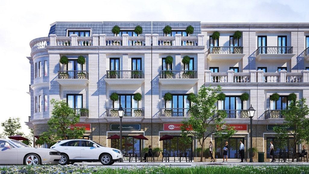 Nhà phố khu thương mại Ký Phú Thái Nguyên