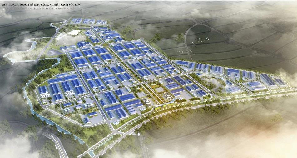 Khu công nghiệp sạch Sóc Sơn Hà Nội